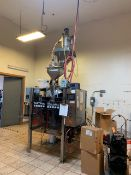 MATRIX VERTICAL FORM FILL AND SEAL MACHINE WITH WEIGH RIGHT FEEDER, MODEL MATRIX PRO, S/N 96025, 240