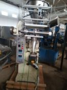 SUNSHINE MACHINERY VFFS WITH AMS AUGER FILLER (LOCATED IN MT. PLEASANT, WI)