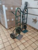 (2) 2-WHEEL HAND TRUCK DOLLIES (LOCATED IN MADISON, WI)