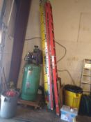 AIR COMPRESSOR, 23.5 CFM @175 PSI (LOCATED IN MADISON, WI)(RIG FEE: $200)