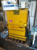 VER-TECH VERTICAL TRASH COMPACTOR, MODEL M-30 (LOCATED IN MADISON, WI)(RIG FEE: $100)