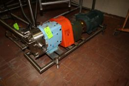 """2014 SPX 25 hp Positive Displacement Pump, M/N 220 UL, S/N 1000002965233, with Aprox. 4"""" Clamp"""