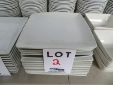 LOT including assorted plates (14)