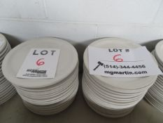 """LOT including plates 9 1/2"""" round (40)"""