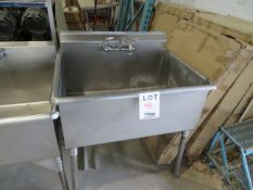 """Stainless steel sink approx. 36""""w x 28""""d x 37""""h"""