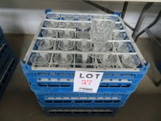 LOT including glasses w/ tray (75)