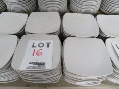 """LOT including plates 7 1/4"""" x 7 1/4"""" (52)"""