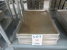 """LOT including baking trays 18""""x26"""" (15)"""