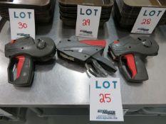 LOT including label marking guns (3)