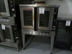 "BLODGETT oven w/ base (dual flow) approx. 38""w x 37""d x 57""h"