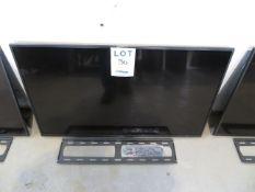 """SONY 43"""" TV w/ wall bracket , Mod: KD43X750F"""