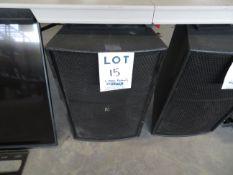 TRANSPARENCE speaker w/ support bracket , Mod: MS12D1