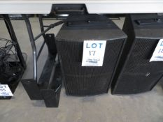 TRANSPARENCE speaker w/ support bracket, Mod: MS10HD1