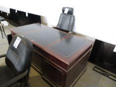 Executive desk w/ chair