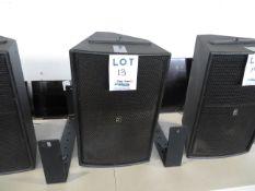 TRANSPARENCE speaker w/ support bracket, Mod: MS12D1