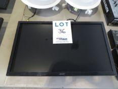 "ACER 22"" TV, Mod: K222HQL"