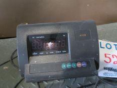 "Electronic scale w/ 47"" x 47"" platform"