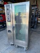 HENNY PENNY CombiMaster CME COMBI oven c/w pull out rack - 208 Volts, 3 phase, (ASSET LOCATED