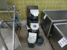 LOT including assorted paper towel dispensers (10)