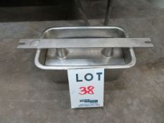 """LOT including molds in stainless steel for ham, etc. approx. 6 1/4"""" x 12"""" (64)"""