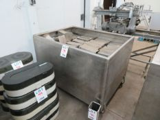 """Stainless steel tub approx. 50""""w x 38""""d x 35""""h"""