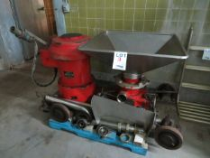 GRIFFITH CO Mod: Mince Master, 275/550 Volts, 50 HP, 3 phase