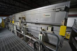"""2000 Metso (4) 30"""" wide Valmet floatation dryers with hot air system."""