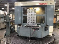 "Niigata Model HN80C 4-Axis CNC Horizontal Machining Center, S/N 46250036, (1995); 60"" X-, 48"" Y-,"