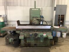 "Warner & Swasey Model 16X48 S-1 16"" x 48"" Surface Grinder, S/N N-243,; 12""D Grinding Blade; with 16"""