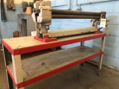 """Pexto 30"""" Plate Bending Roll; 3-Roll, Initial Pinch Type"""