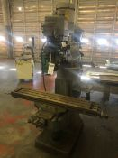 "Bridgeport Model Series I Vertical Milling Machine, S/N BR259814, (1998); with 9"" x 42"" Power Feed"
