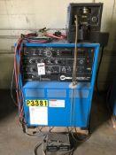 Miller Model Syncrowave 350 350-Amp Welder, S/N KB041480, (1991); with Miller Model Coolmate 3