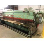 "Cincinnati Model 2516 3/16"" x 16' Shear, S/N 12819, with Back Gauge"