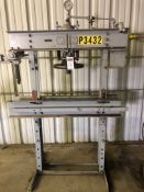 "Manley Model 1046 40-Ton H-Frame Press, S/N 411, 30"" Distance Between Posts"