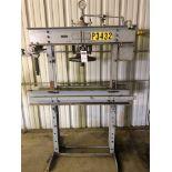 "Manley Model 1046 40-Ton H-Frame Press, S/N 411, 30"" Distance Between Posts"