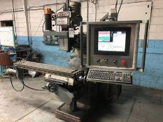 "Alliant Model 1054-3V CNC Vertical Milling Machine, S/N K3VL-1629, (1999), 3 hp; with 10"" x 54"""
