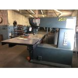 """Onsrud Model A-1136-A 36"""" Throat Pin Router, S/N 897868-01, (1995); with 26"""" x 36"""" Worktable"""