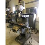 """Bridgeport Vertical Milling Machine, S/N 40456, (1993), 1.5 hp; with 9"""" x 42"""" T-Slot Worktable and"""