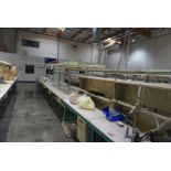(2) Rows of Work Stations
