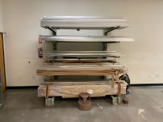Cantilever Rack with Material