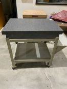 Micro Flat Granite Surface Plate with Stand