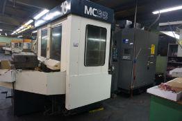Makino MC98-A99 4-Axis HMC, Fanuc 16 Pro 3 Control, New 1991