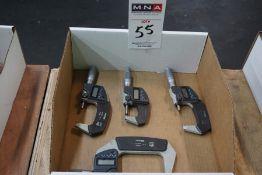 Mitutoyo Digital Micrometers