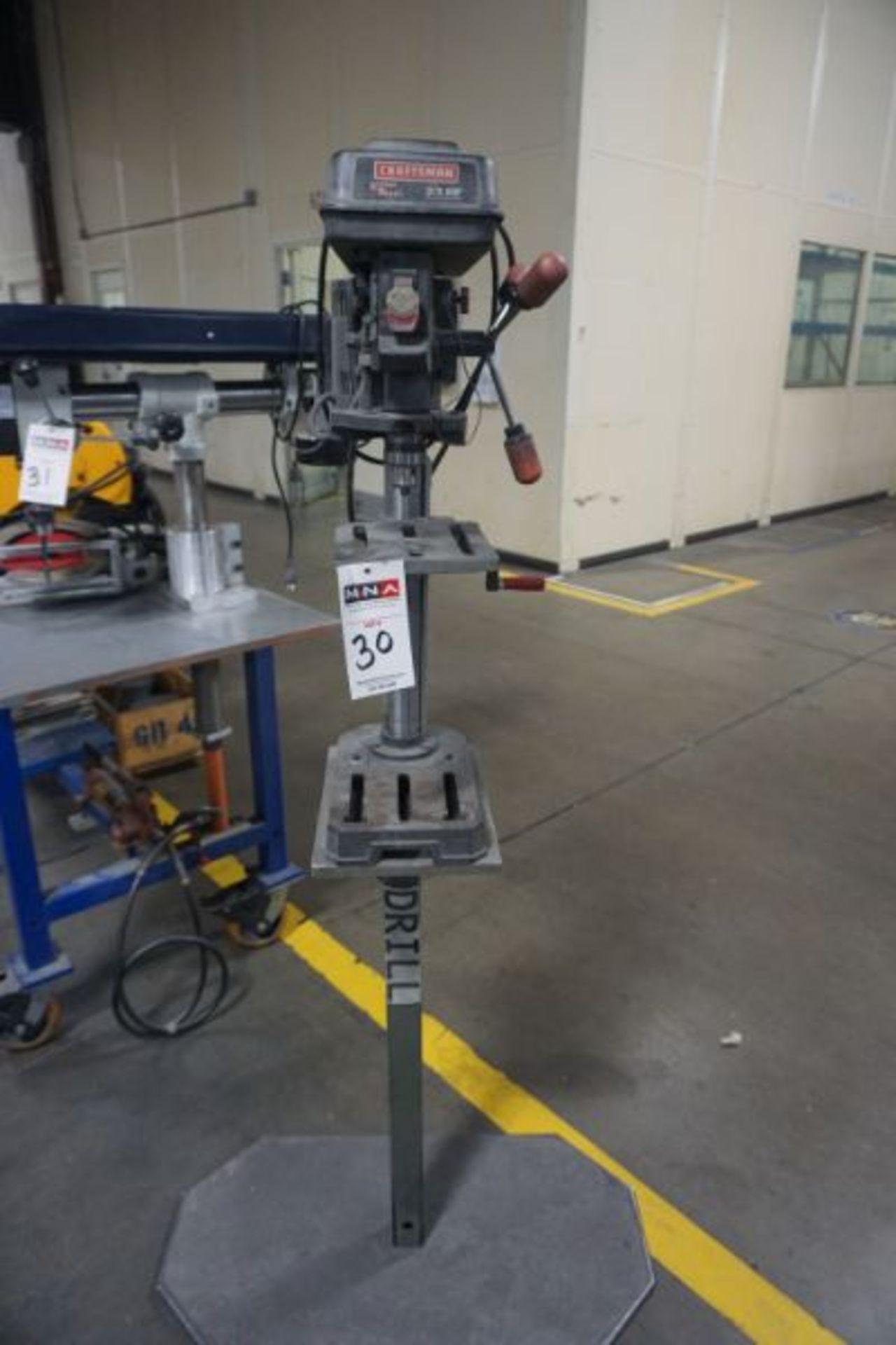 Craftsman Laser Trac 3/4 HP Drill Press - Image 2 of 3