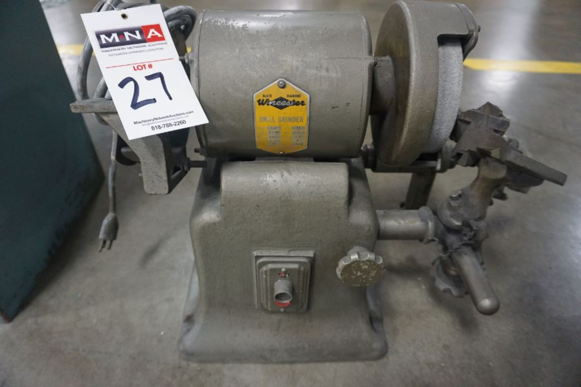 Worchester Drill Grinder - Image 2 of 2