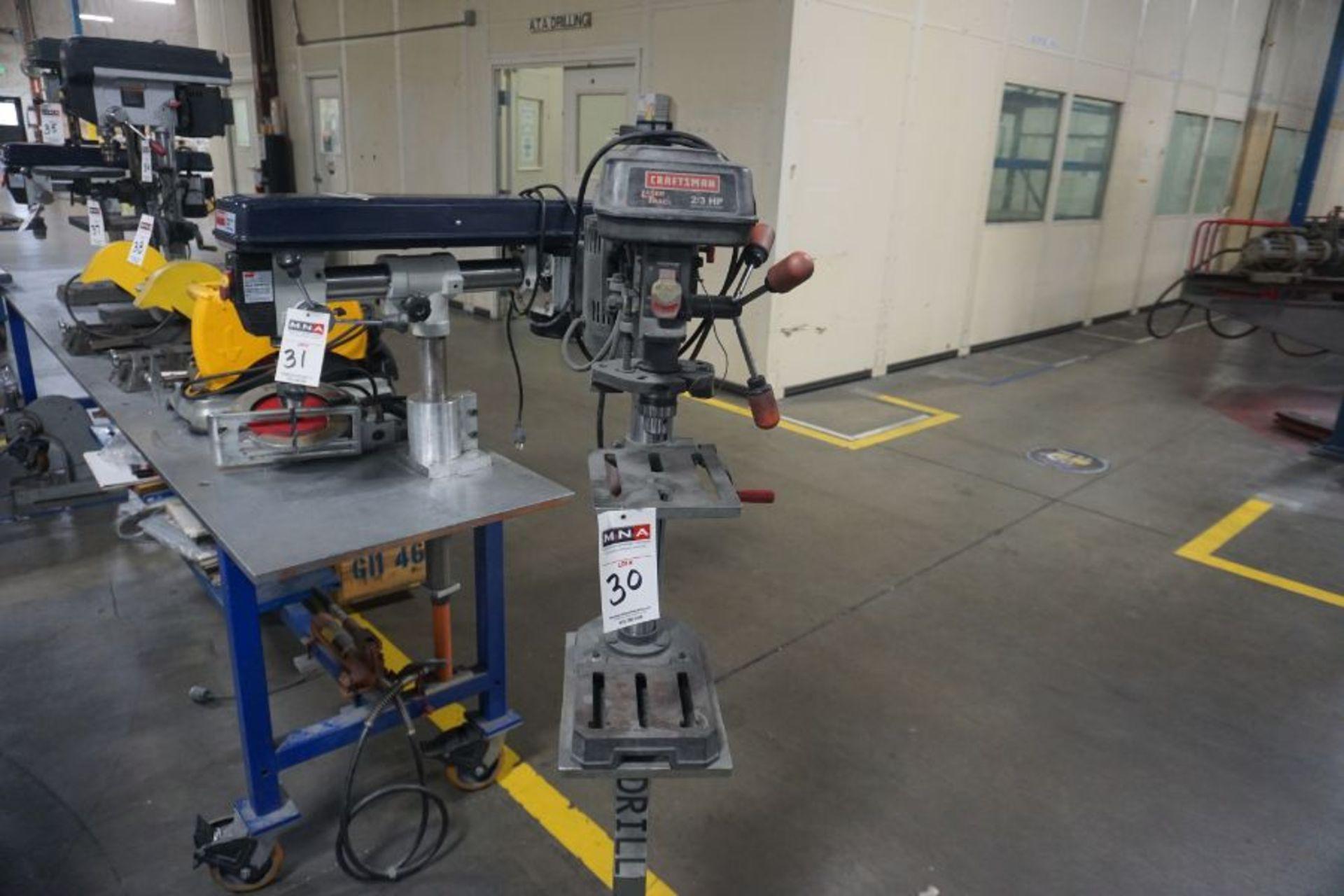 Craftsman Laser Trac 3/4 HP Drill Press