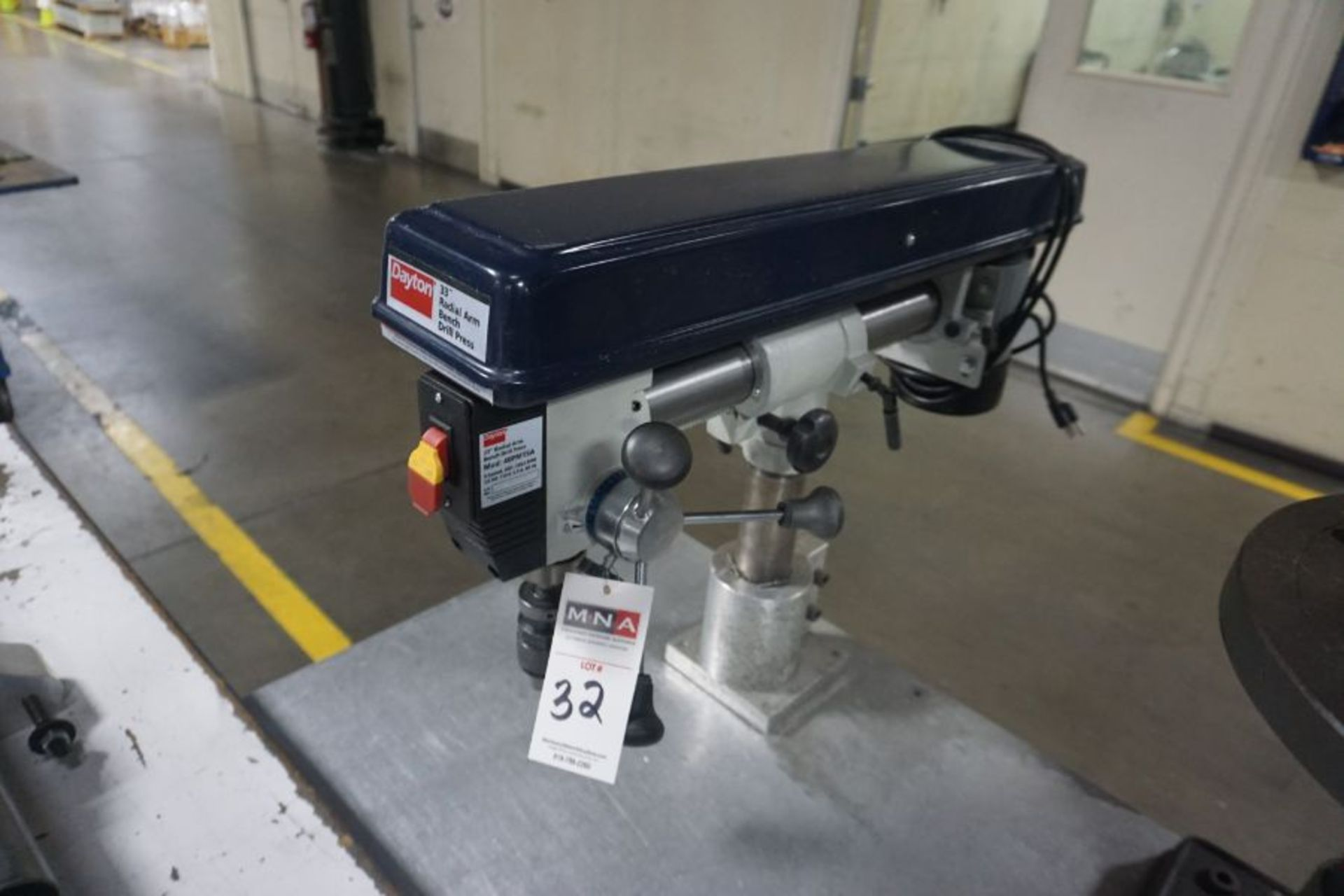 Dayton 33'' Radial Arm Drill Press