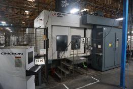(2) Cincinnati Lamb H5-1000 AP F.M.S. Siemens 2100 5-Axis control , t (14)1250mm& 1000mm A.P.C,