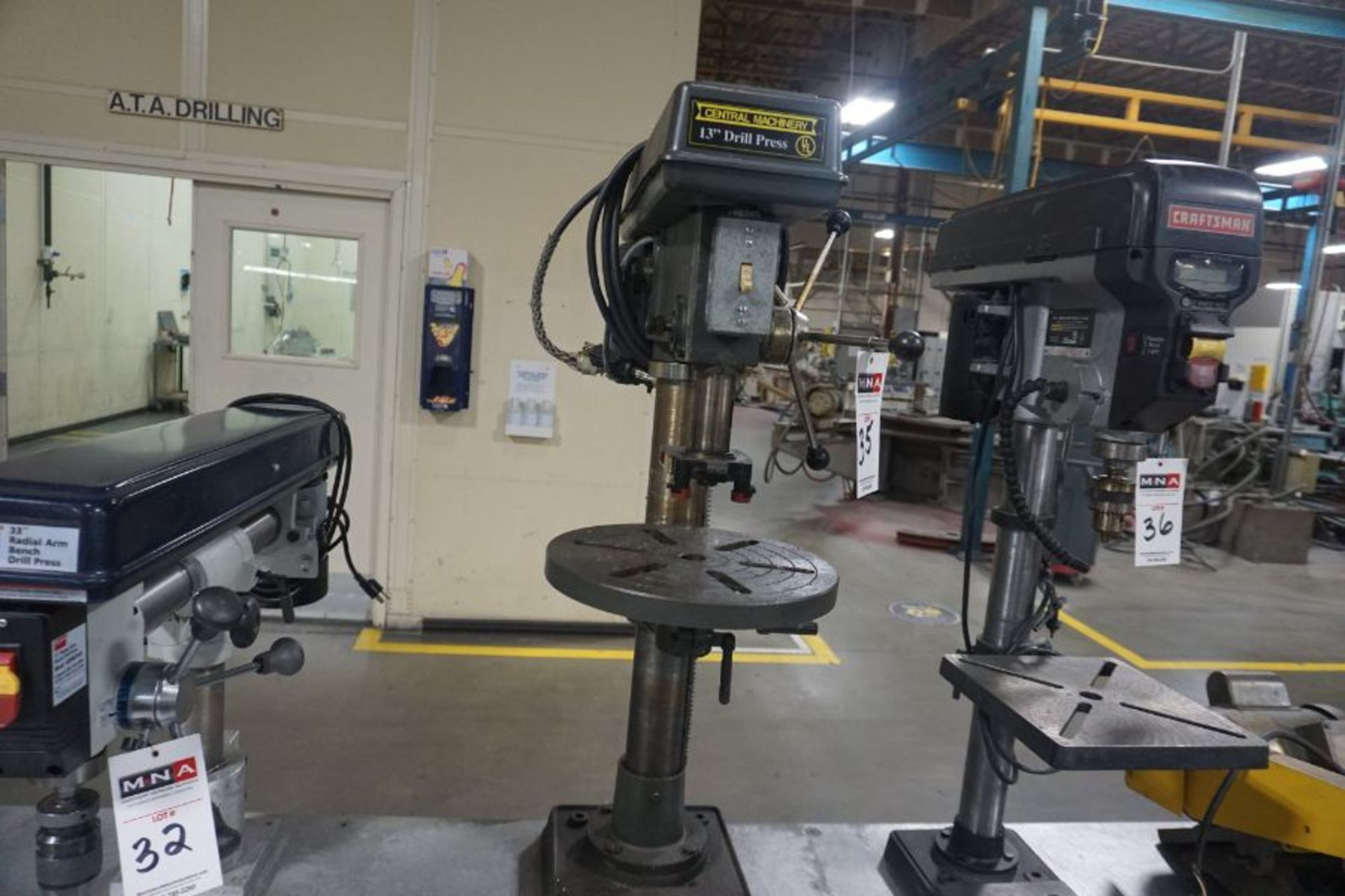 Central Machinery 13'' Drill Press - Image 5 of 5