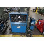 Miller Syncrowave 350 Welder w/ Foot Pedal & Miller Cooler